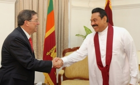 Cuban Foreign Affairs Minister Calls on President Rajapaksa
