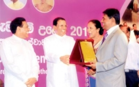 Dr.Wijayadasa Rajapakshe honoured