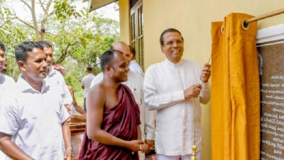President participates in several development programmes in Polonnaruwa