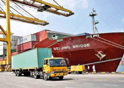 MV Beijing Bridge makes maiden call at Port of Colombo