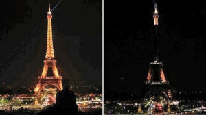 Eiffel Tower goes dark to honour Lankan attack victims
