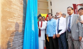 """ Randiya Uyana""  Housing Scheme declared open marking President's B'day"