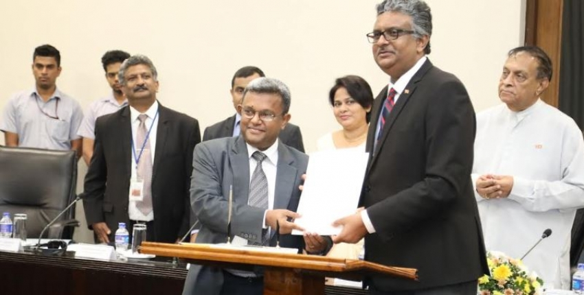 MoU signed between Parliament of Sri Lanka and UGC for the research and data mobilization
