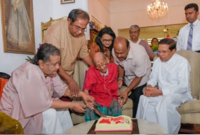 Dr. Lester James Peries turns 99...