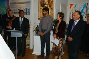 Lester Ruhunuhewa – A Sri Lankan Artist as Guest in Germany