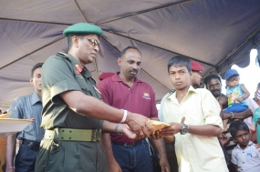 Army Organizes New Year Festival for Konapulam Children