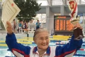 Japanese centenarian notches up world record