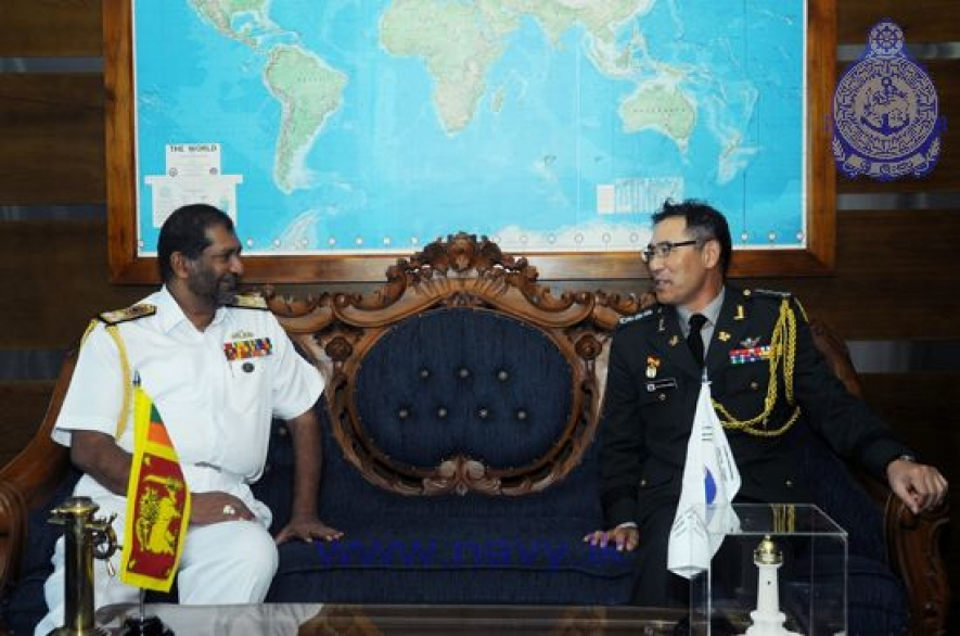 South Korean Defence Attache calls on Commander of the Navy