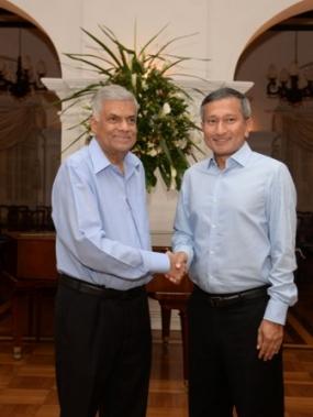 PM meets Singapore FM