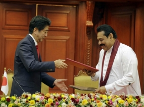 Sri Lanka and Japan Sign Agreements for Cooperation in a Number of Sectors