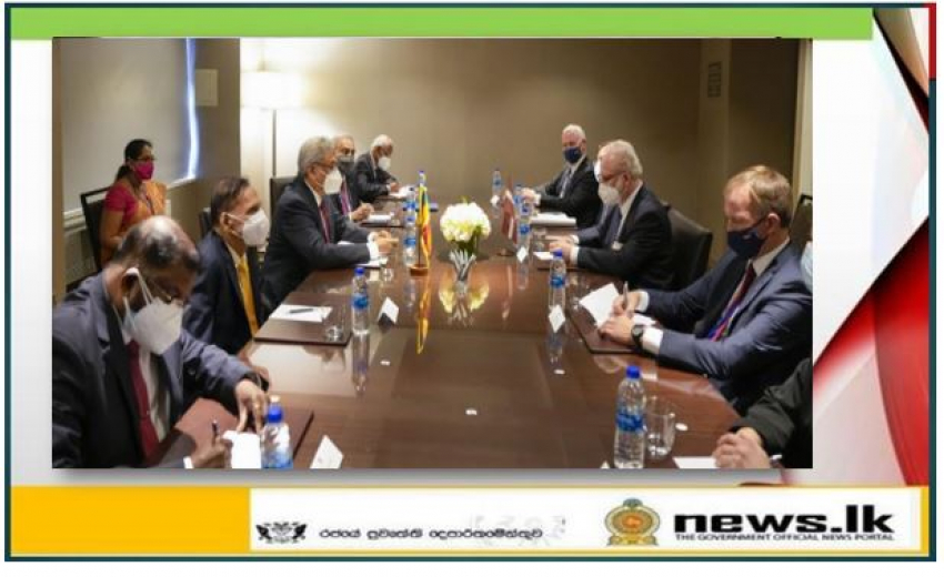 Leaders of Sri Lanka and Latvia focus on developing bilateral relations….