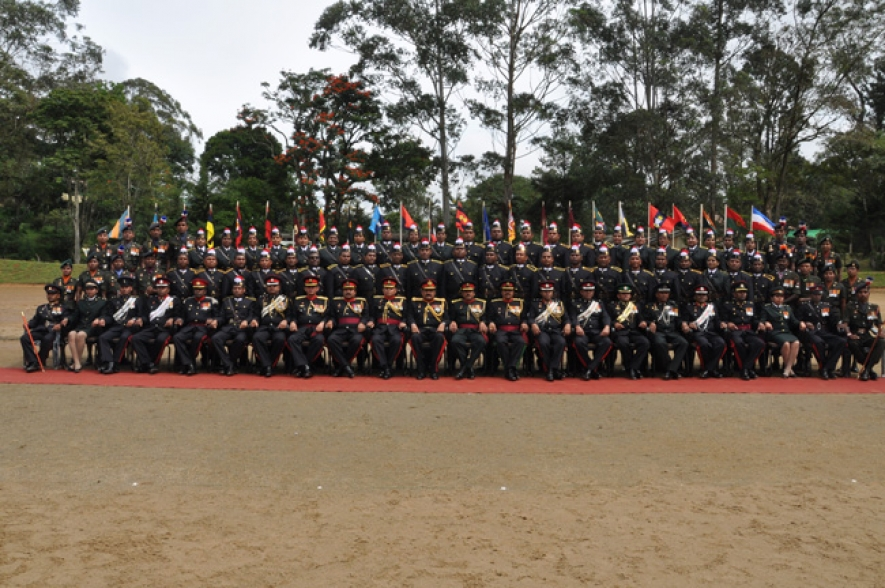 Professionals Completes Military Training