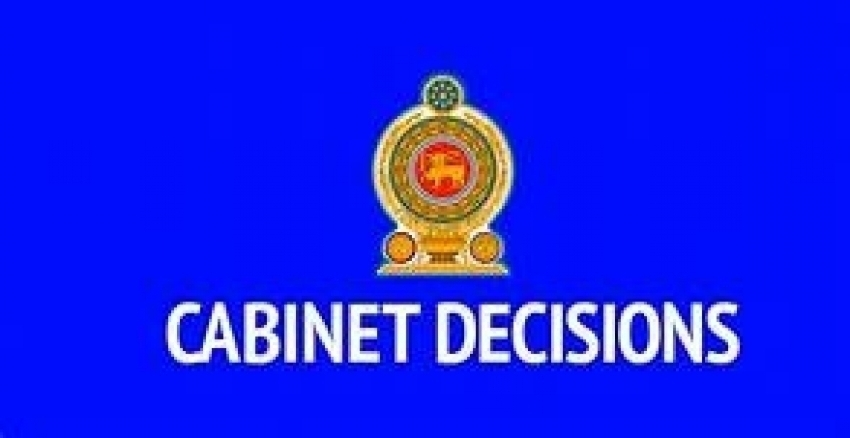 Decisions taken by the Cabinet of Ministers at its meeting held on 02.04.2019
