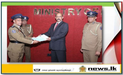 Four Police officers receive cash prizes for their exemplary conduct beyond duty