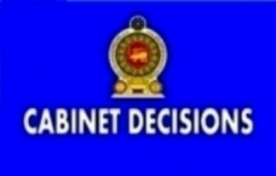 Decisions taken by the Cabinet of Ministers at its meeting held on 04.09.2018