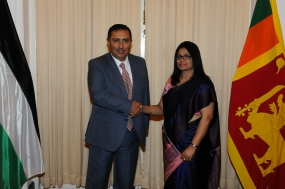Political Consultations between Sri Lanka and Palestine held in Colombo