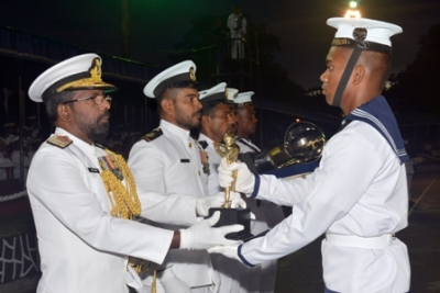 Naval recruits of 229th regular intake pass out