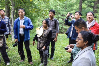 Sri Lanka takes part in Forest Management Study Tour
