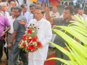 Late Minister Gamini Dissanayake worked for the development and service of the people - President