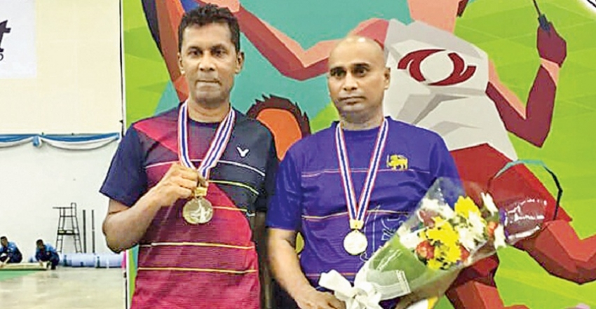 Lankan shuttlers perform brilliantly to grab nine golds