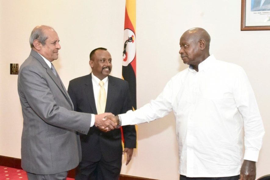 Uganda and Sri Lanka discuss MoU to combat transnational crime