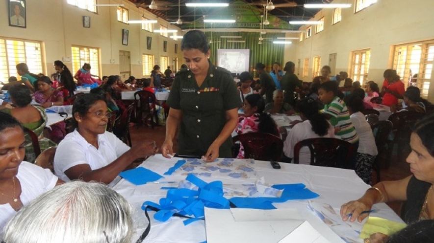 Army Women's Corps Helps Widows Start Self Employments