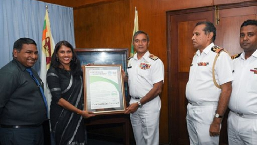 "Navy  Hospital awarded ""CarbonNeutral Operations"" certificate as the first  in Asia"