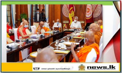 President initiates discussion to develop Piriven and Dhamma school education