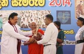 Sri Lanka marks International Nurses' Day 2014