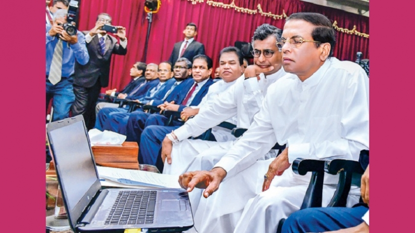 President invites SL expatriates: Serve the country at least for a short period