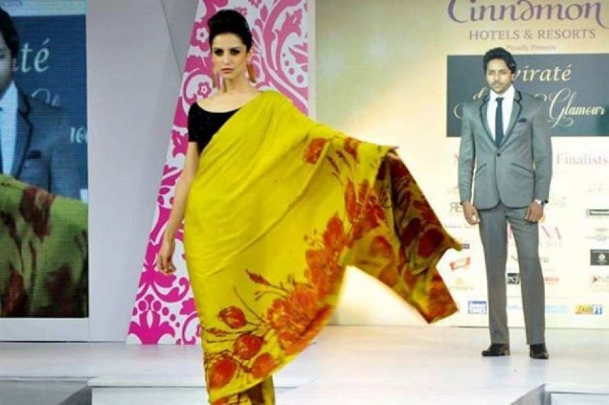 Hameedia takes the ramp with Indian beauties