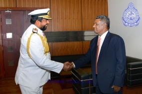 Navy Chief  calls on newly appointed Secretary of Defence