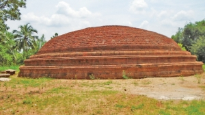 Ancient dagoba unearthed in Matale
