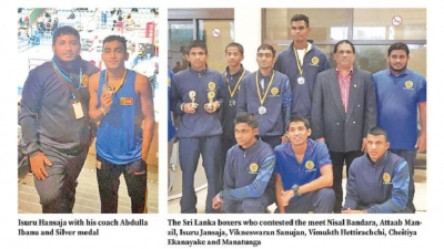 Sri Lankan boxers make history at Euro meet