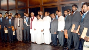 Sri Lanka Parliament felicitates World T20 champions