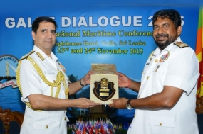 Galle Dialogue 2015 Foreign Delegates call on  Navy Chief