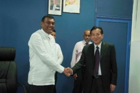 China to help agriculture in Sri Lanka
