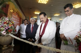 President Inaugurates Colombo International Book Fair 2014