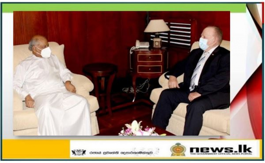 The Ambassador of Cuba to Sri Lanka calls on the Foreign Minister