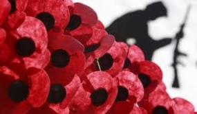 Poppy Day 2014 celebrations on November 9