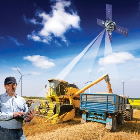 Satellite GPS Technology to assess crop damages