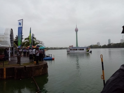 Beira Lake passenger boat service launched