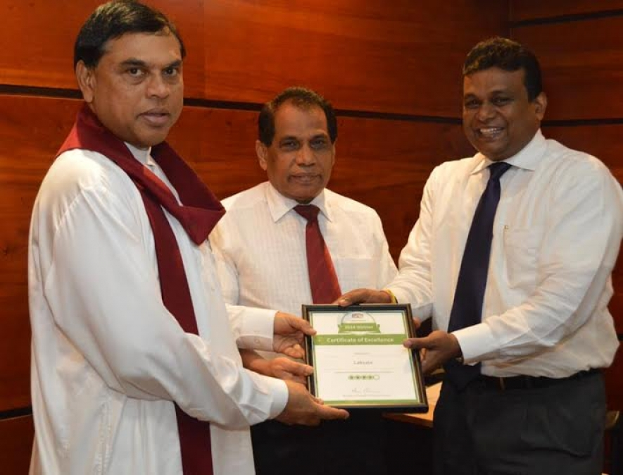 TripAdvisor's Certificate of Excellence Awarded to the Laksala