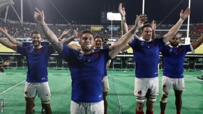 France beat Tonga to set up England Rugby World Cup showdown
