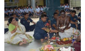 SLAF holds annual Hindu Religious Ceremony