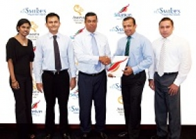 SriLankan Airlines' FlySmiLes partners Amaya Resorts and Spas