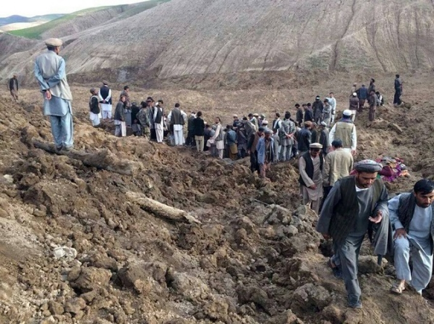 Over 350 killed in Afghan landslide