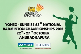 63rd National Badminton Championship commences on October 22