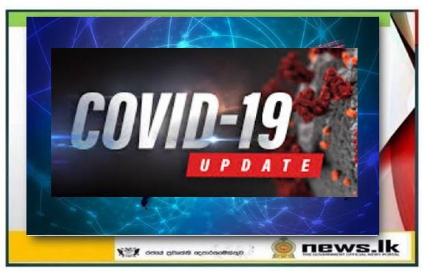 Total numbers of Covid-19 cases today 784