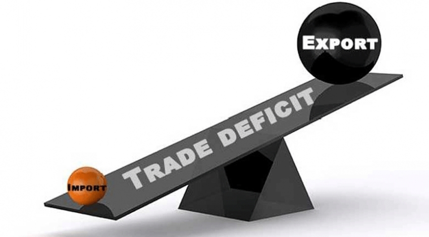 Trade deficit contracted in October
